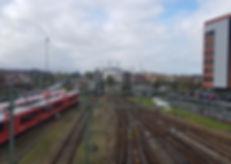 Spoor en treinen in Groningen