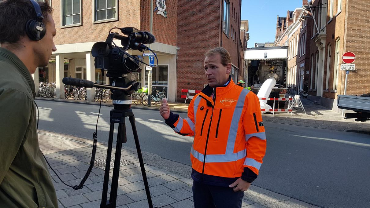 Filmpje voor stadsbeheer