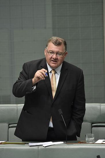 Craig in Parliament