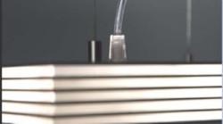Detalhe luminária Slices