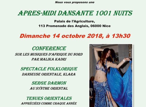 Après-midi Dansante Folklorique Orientale de L'Association SAMI