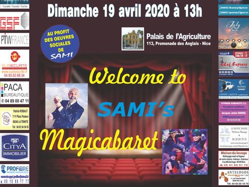 SAMI vous emmène au CABARET à l'occasion du 14è Colloque SAMI sur le Cancer le 19/04/20