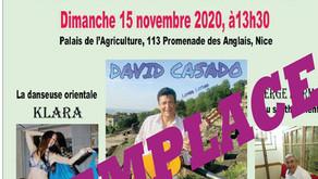 En raison de la propagation du COVID SAMI remplace son Après-midi Folklorique Orientale du 15/11/20
