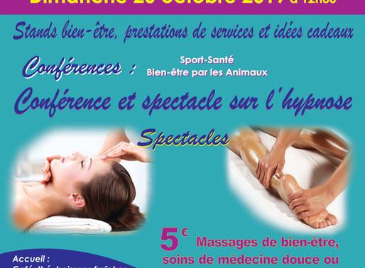 6 ème Salon du Bien- être SAMI,  Conférence sur l'Hypnose et Sport - Santé et Spectacle