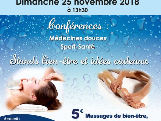 4ème Salon du Bien- être SAMI,  Conférence Sport - Santé et Bien-être par les Animaux