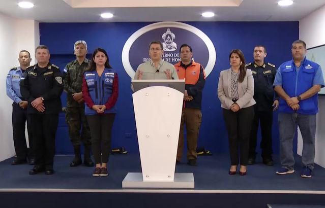 Importante mensaje del Presidente Juan Orlando Hernández con relación al COVID-19