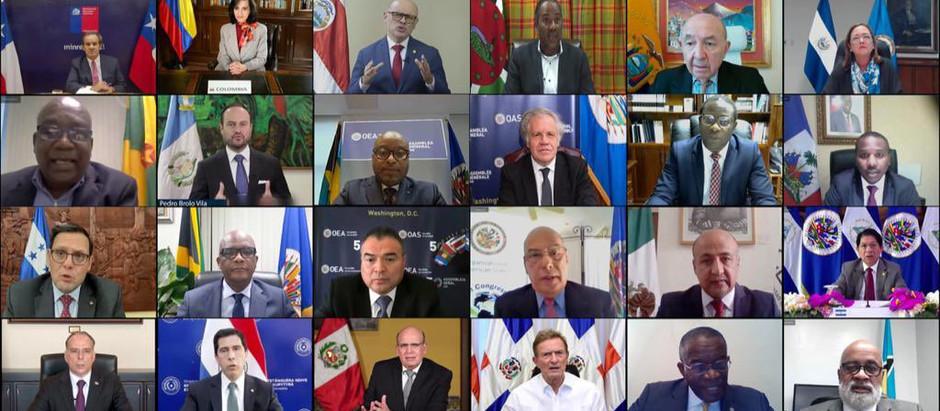 50 ASAMBLEA GENERAL DE LA ORGANIZACION DE LOS ESTADOS AMERICANOS (OEA)