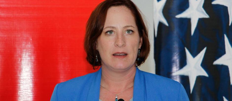 """Estados Unidos aplaude medida Heide Fulton: Veto del presidente Hernández fue """"el paso correcto"""""""