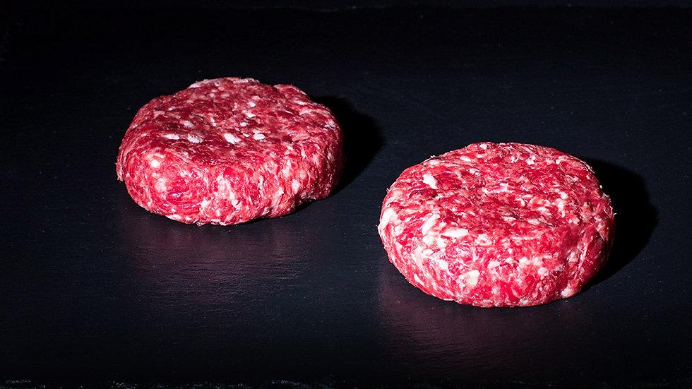 Steak haché pur boeuf.
