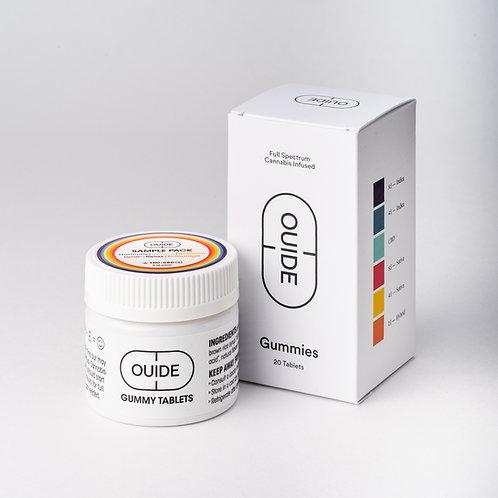 Sample Pack Gummy Tablets