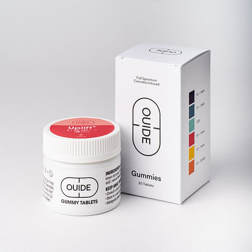 UPLIFT+ 8:1 Gummies 25mg Tablet