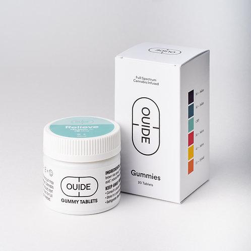 Relieve CBD Gummies 25mg Tablet