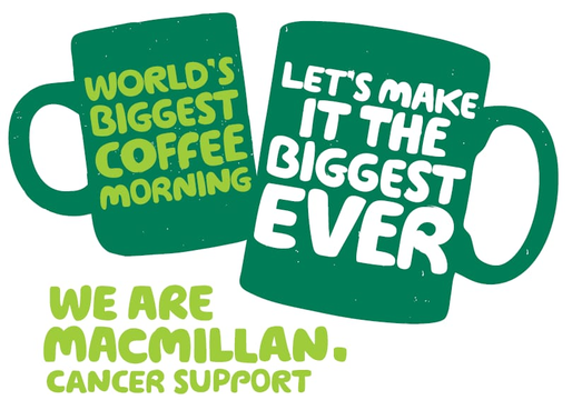 The big Macmillan Coffee Morning at Axis