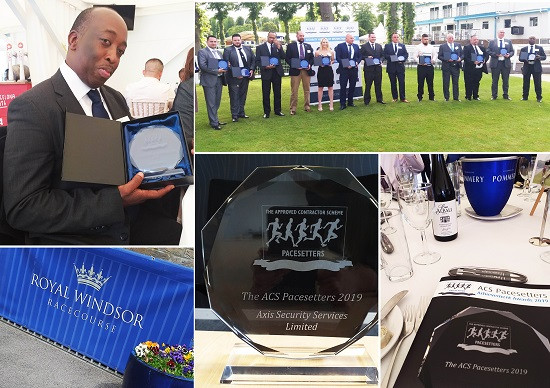 Axis Security Officer, Julio Ferreira, wins award