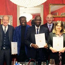 London 'Axis Extra Mile Award' Winners