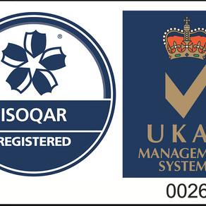 Axis Security achieves third international management standard