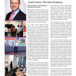 A Day in the Life of... Peter Morris, Lead Trainer