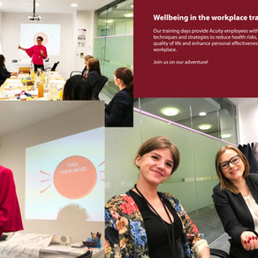 Wellbeing in the workplace training day