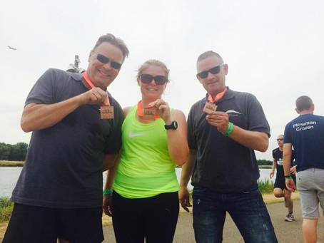 Axis Complete the 2015 JLL Triathlon
