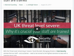 Axis Security invited to Security Expert Online