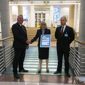 Exchequer Court Security Team rewarded with Silver Fox Awards