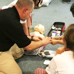 The Axis Academy partners with GOSH to provide first aid training