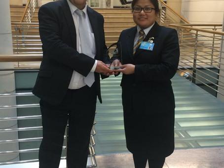 Exchequer Court Gain Silver Fox Award