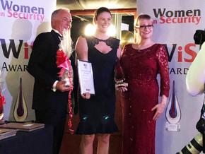Emma Threlfall wins Women in Security Award