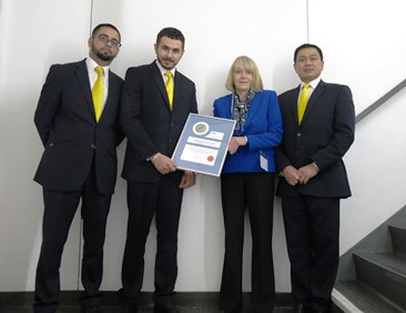 Axis Security Team Awarded Silver Fox Certificate