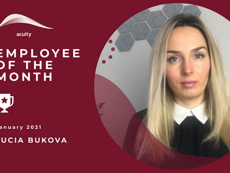 Employee of the Month - Lina Rodrigues and Lucia Bukova