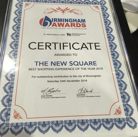 'The New Square' wins Birmingham Awards