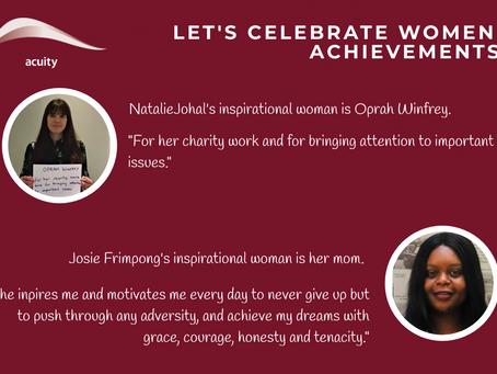 Acuity Celebrates International Women's Day