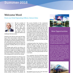 Axis Cleaning Summer Newsletter is here!