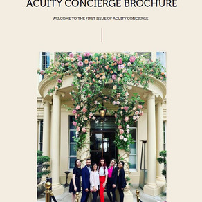 Acuity Launches Acuity Concierge Brochure