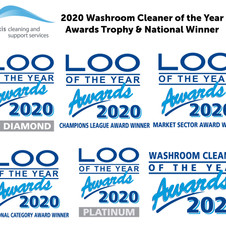 Clean Sweep for Axis Cleaning at Loo of the Year Awards