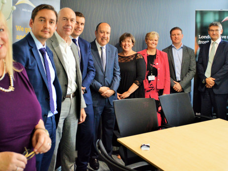 Axis Group hosts CEO Breakfast with ICS