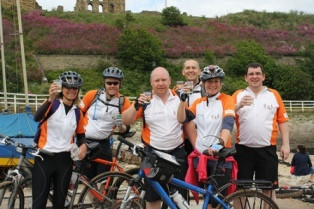 Axis Security Celebrates Employee Commitment to Charity