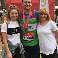 Chris's first London Marathon