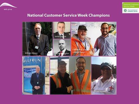 National Customer Service Week 2018 at Axis