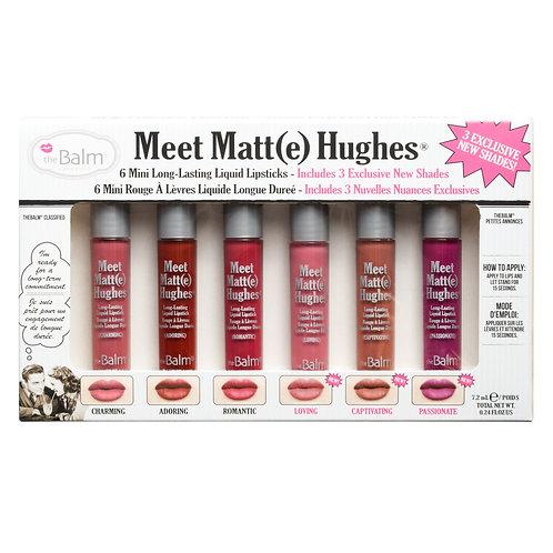 Meet Matt(e) Hughes Lip Kit VOL 3