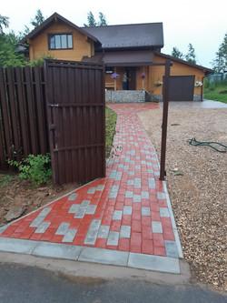 тротуарная плитка для сада и дачи