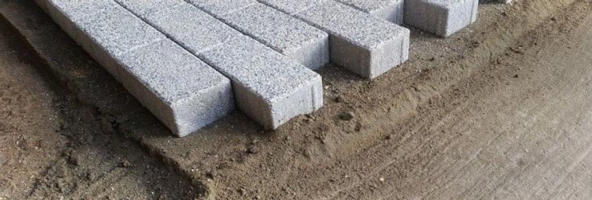 Укладка тротуарной плитки с подготовкой на бетонное основание