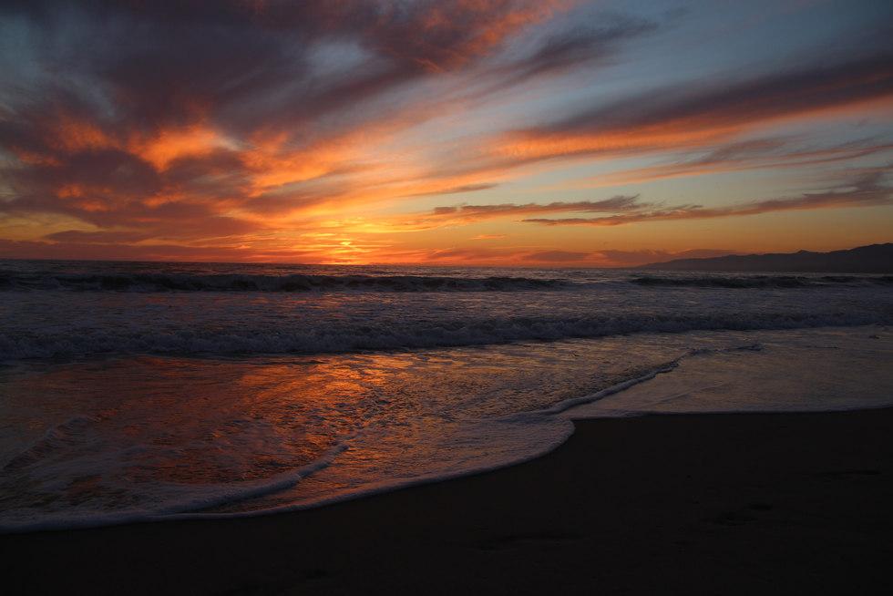 Summer Sunset in Venice Beach.JPG