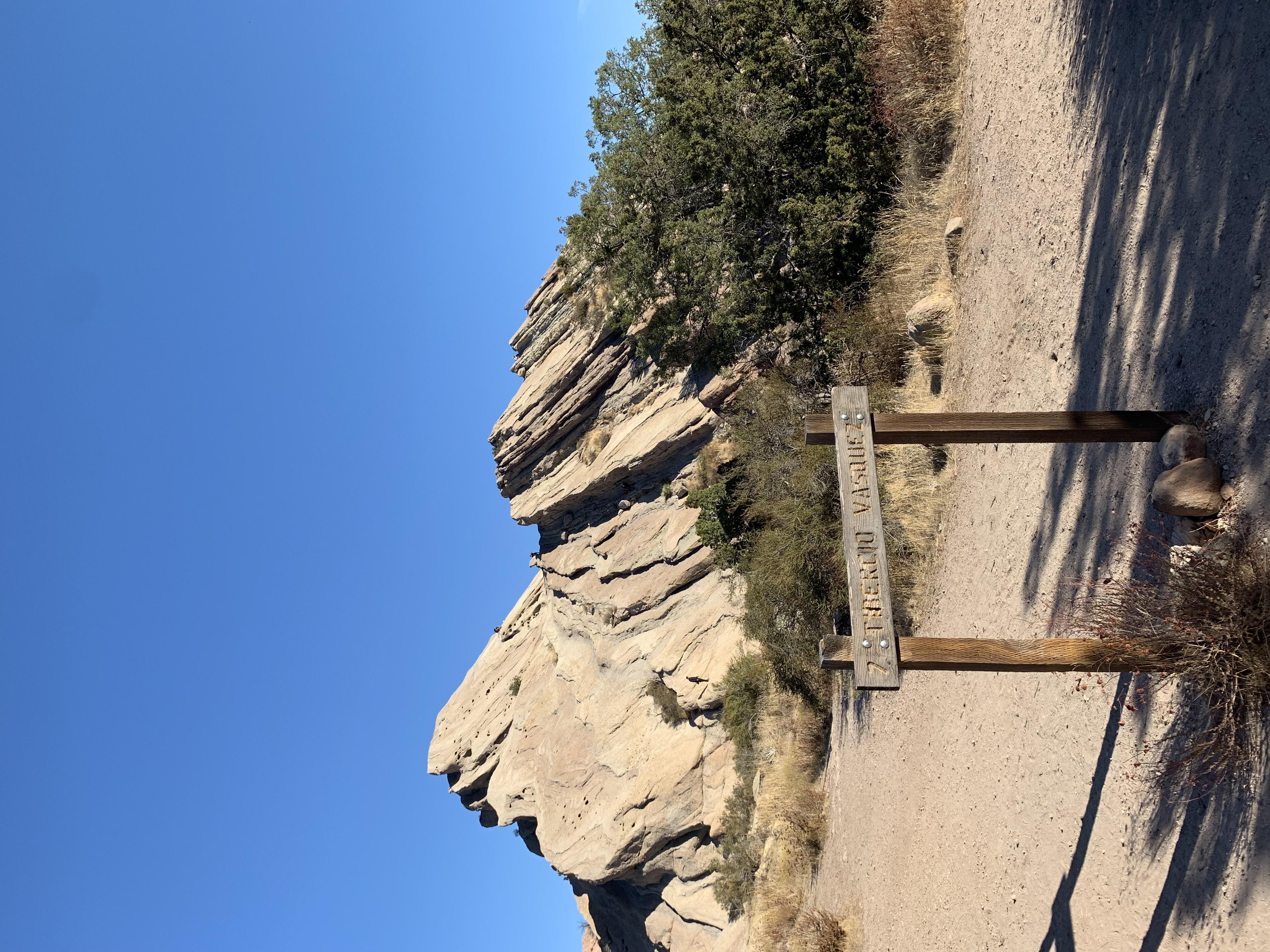 Vasquez Rocks in Agua Dulce, CA