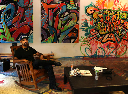 Q&A with GONZO247: The Mastermind Behind Houston's First Mural Festival