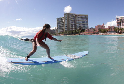 Saltwater Dreaming: Learning to Surf in Waikiki