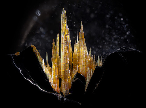 Danny J. Sanchez Photographs Precious Stones to Reveal Their Hidden Beauty