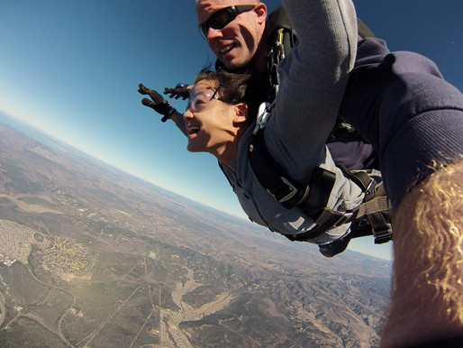Leap of Faith: Skydiving for the First Time