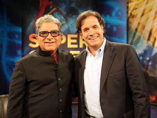 "Interview with Deepak Chopra and Rudy Tanzi on Their New Book ""Super Genes"""