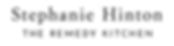 Stephanie Hinton - Logo - Medium - Black